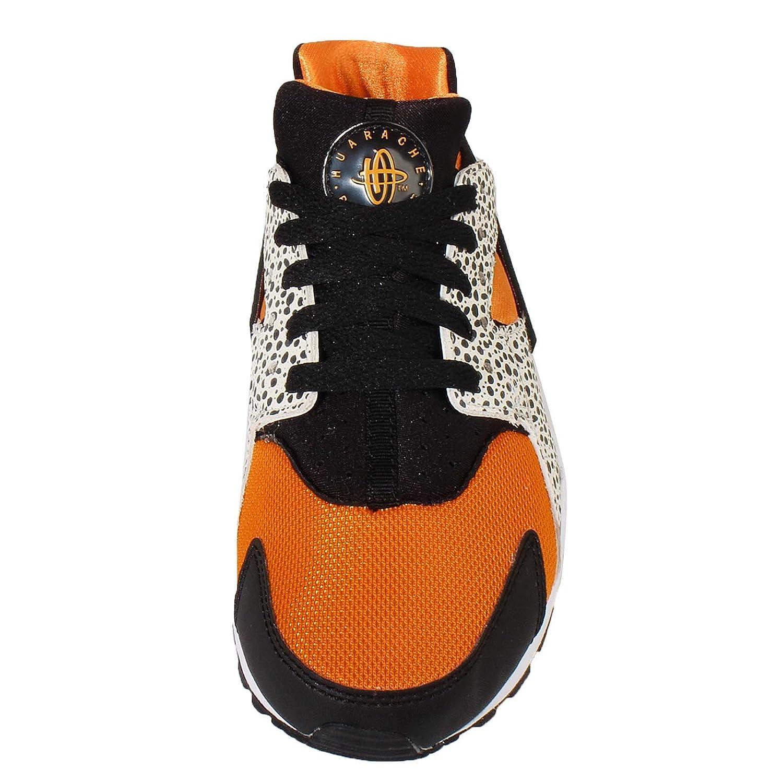 the best attitude 17a96 38402 Nike Huarache Run Safari (GS) Trainers 820341 Sneakers Shoes (uk 5 eu 38, white  black clay orange 100)  Amazon.co.uk  Shoes   Bags