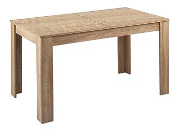 Homexperts Tisch Nick Moderner Esstisch 140 Cm Mit Ausziehbarer