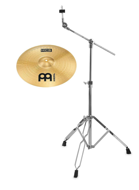 Meinl HCS 16 Crash Set (MS63 Legierung, Finish: Regular, inkl. Galgenbeckenständer) Meinl Cymbals