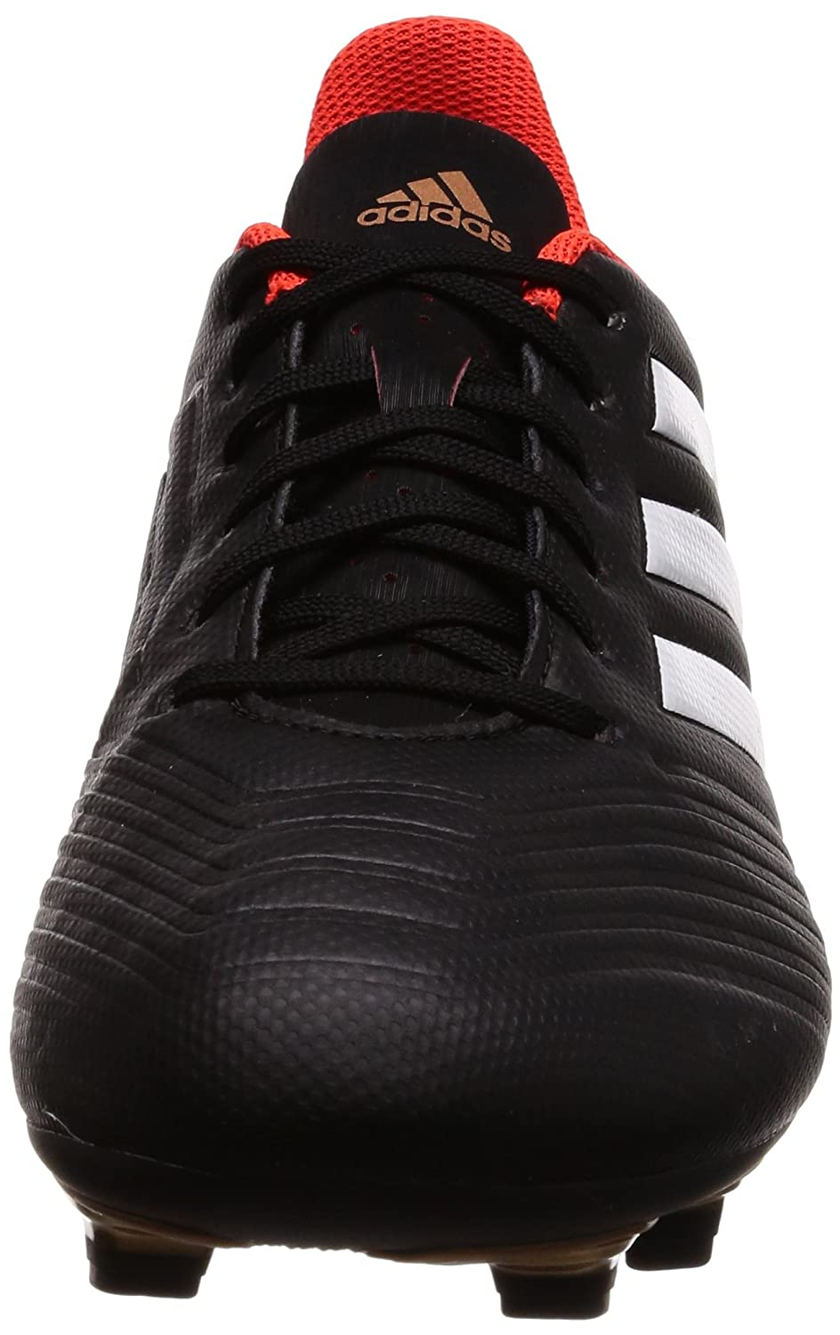 83fa4a58beaf Adidas Men s Predator 18.4 FxG Cblack Ftwwht Solred Football Boots - 9  UK India (43.33 EU)(CP9265)  Buy Online at Low Prices in India - Amazon.in