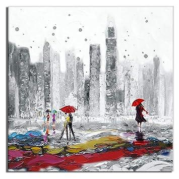 Amazon De Ajldn Abstrakte Malerei Moderne Kunst Olgemalde