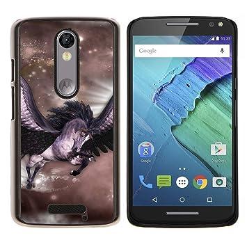 """Planetar® (Pegasus Estrellas Caballos en las alas de vuelo místico"""")  Motorola Droid"""