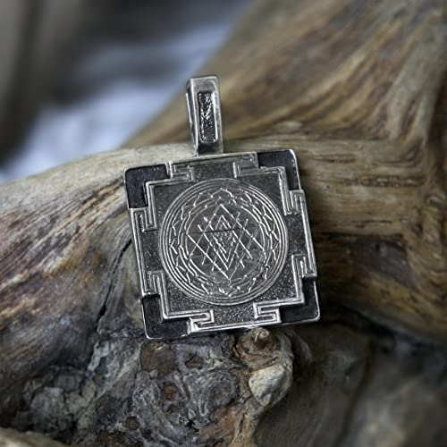 Amazon sri yantra pendant sterling silver made to order sri sri yantra pendant sterling silver made to order sri yantra necklace sri yantra amulet mozeypictures Choice Image