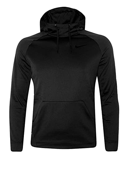 b3a5522832d1 Nike Men s KO Therma-FIT Performance Athletic Hoodie Pullover Black ...