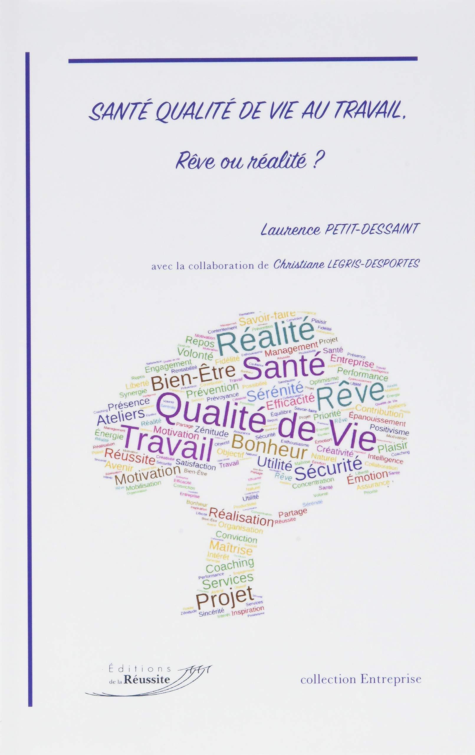 Sante Qualite de Vie au Travail Reve Ou Realite Broché – 16 mai 2018 Petit Dessaint Books on Demand 2490341022 Soziologie