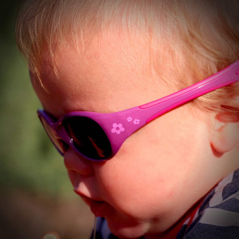ActiveSol Lunettes de soleil pour BÉBÉ   FILLE   Protection 100  % UV 400   e2576b064a22