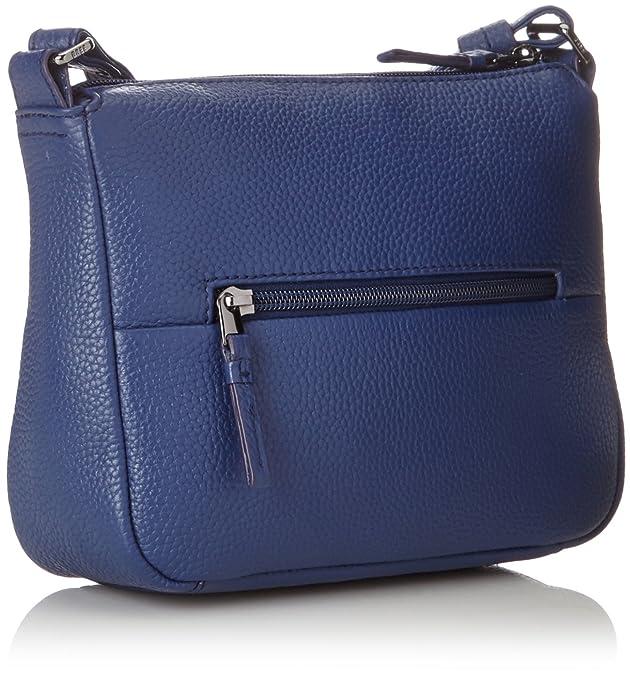 Faro 1, Blueprint, Cross Shoulder S S18, Cross-Body Bag, Womens, Blue, 7x17x23 cm (B x H x T) Bree