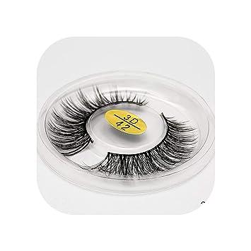 3D Mink Eyelashes Natural Long False Lashes Full Strip Lashes Thick Faux Mink Lashes HandMade False