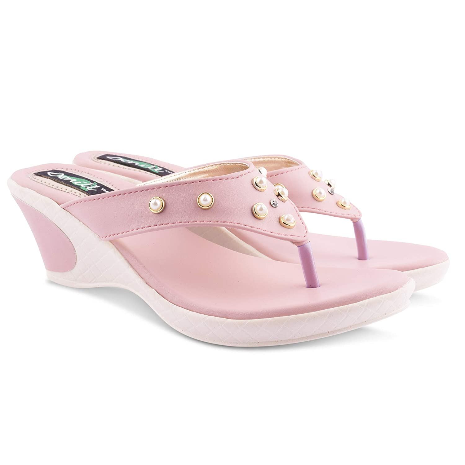Denill Latest Collection, Comfortable Women's Wedges | Wedges for Womens | Wedges Sandals for Women | Wedges for Women Casual...