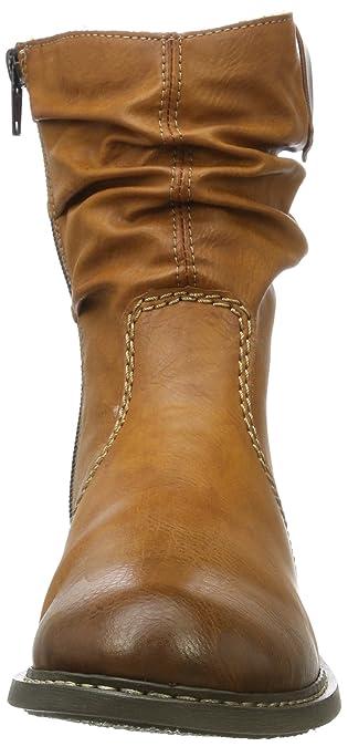 perfekte Qualität Schnelle Lieferung klassische Stile Rieker Z4180 Damen Halbschaft Stiefel