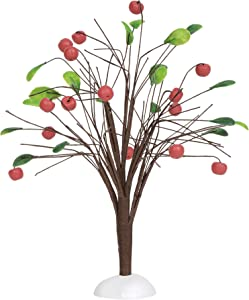 Department 56 Accessories for Villages Fall Apple Tree Figurine, 8.27 Inch, Multicolor