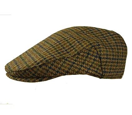 0a05c076b5 Quality English Tweed Cap Earland Brothers Hats 100% Wool Moon Fabrics Made  by Failsworth 5 Tweeds
