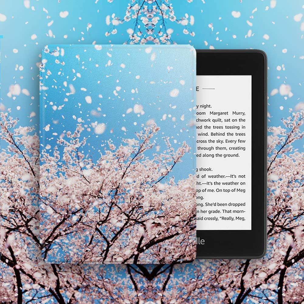 10./ª generaci/ón - Modelo de 2018 Huasiru Pintura Caso Funda para Kindle Paperwhite Navegar