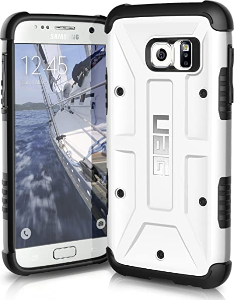 check out f24ac 246d0 UAG Samsung Galaxy S7 [5.1-inch Screen] Feather-Light Composite [White]  Military Drop Tested Phone Case