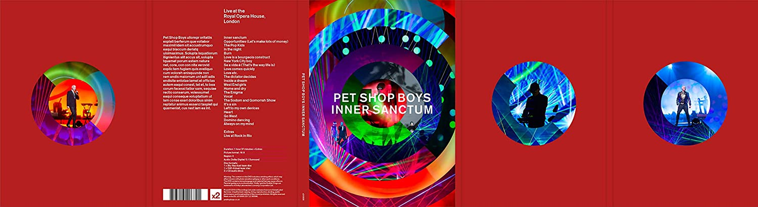 Amazon com: Inner Sanctum [Blu-ray]: Pet Shop Boys: Movies & TV