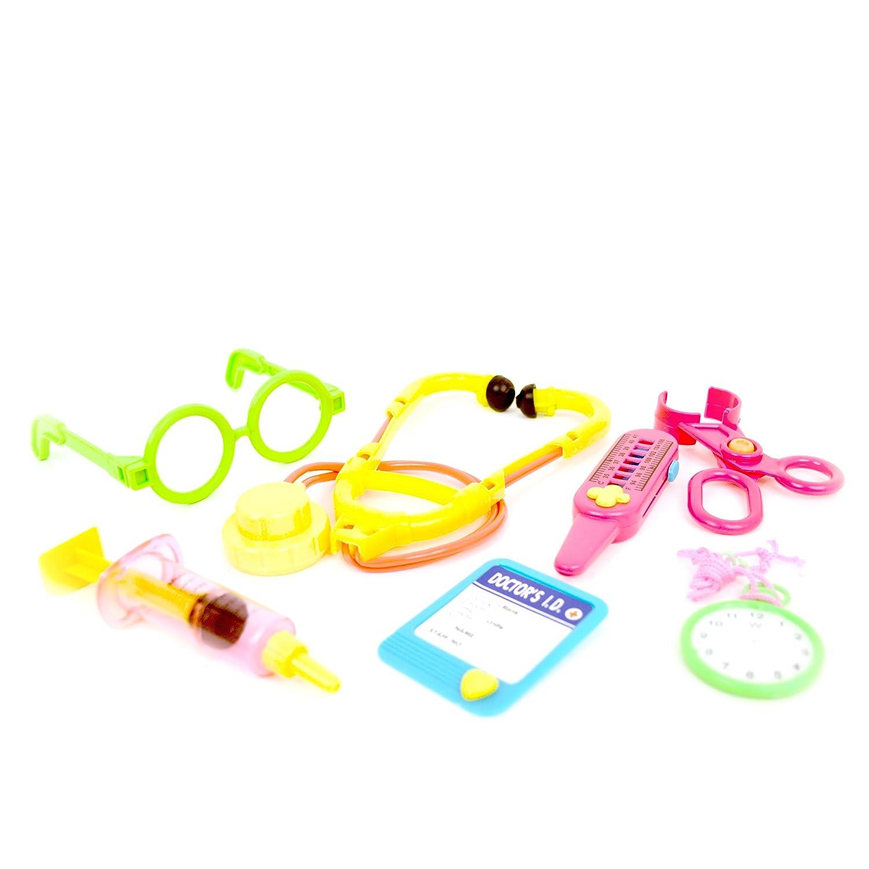 WDK PARTNER - A0601861 - Jeux d'imitation - Kit accessoires docteur
