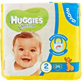 Huggies - Unistar - Pañales - Talla 2 (3-6 kg) - 24