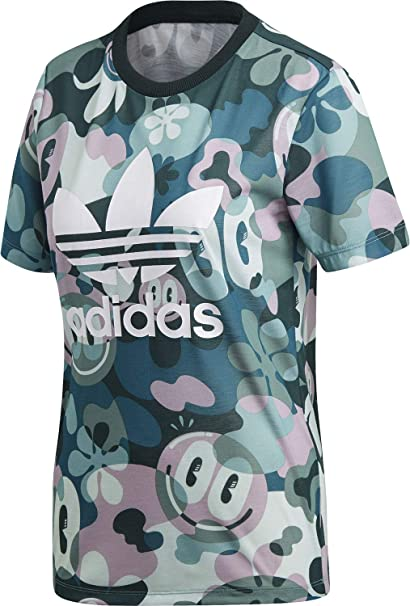 70c287f11595 adidas Trefoil, T-Shirt Donna: Amazon.it: Abbigliamento