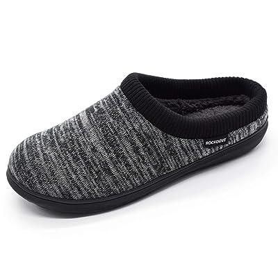 RockDove Men's Hoodback Slipper with Memory Foam | Slippers