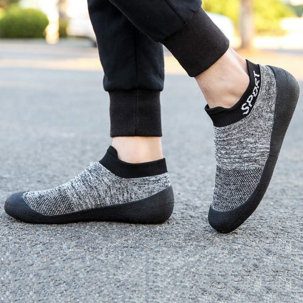 Dainzuy Women Running Shoes Ladies Casual Sports Non Slip Walking Sneakers Slip-On Soft Sole Socks Mesh Sneakers