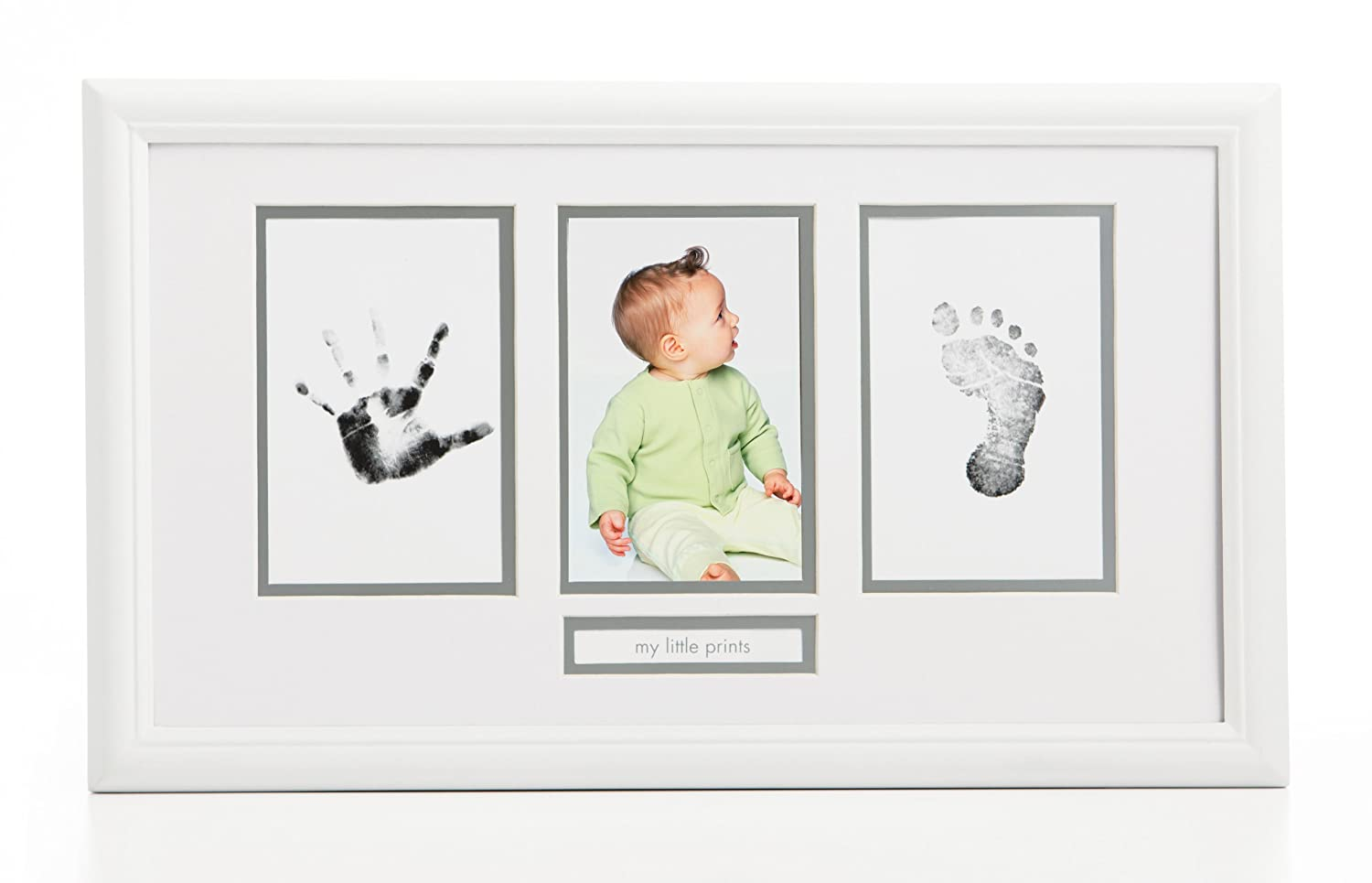 Pearhead Babyprints Photo Frame (Discontinued by Manufacturer) (Discontinued by Manufacturer) 13030