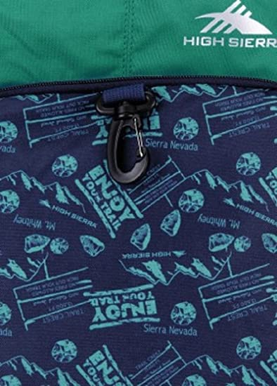 High Sierra Bonobo Medium Blue Backpack  Amazon.in  Bags 06bb22c902b44