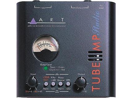 Art Line Level Converter : Amazon.com: art tube mp studio mic preamp: musical instruments