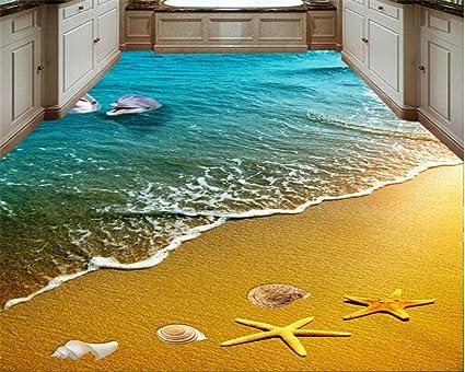 Yuxua 3d sfondi carta da parati wallpaper spiaggia stella di mare