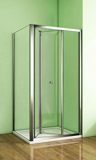 Cabina de ducha, puerta corredera, puerta abatible, puerta plegable: Amazon.es: Bricolaje y herramientas