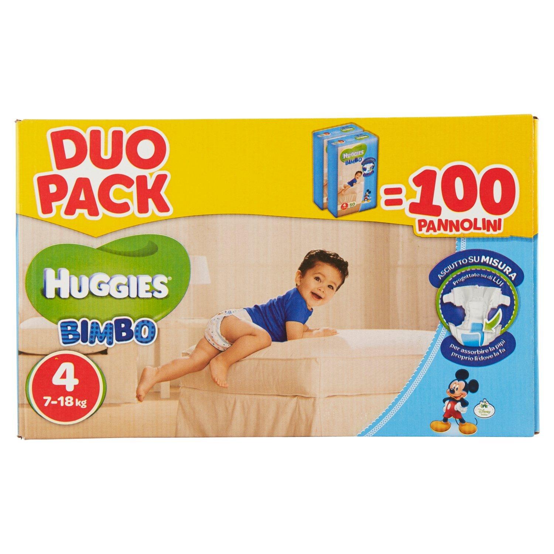 Huggies - Bimbo - Pañales - Talla 4 (7-14 kg) - 2