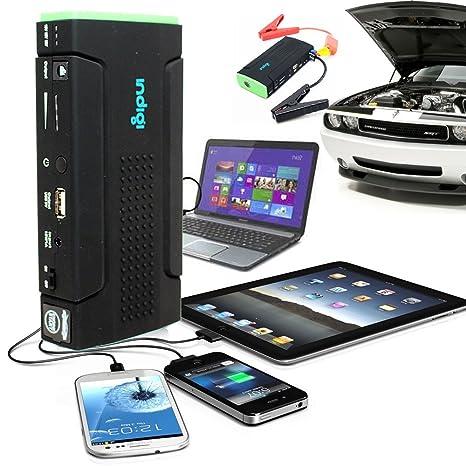 Indigi® Multifunción potente coche banco de energía de emergencia Jump Start + Copia de seguridad