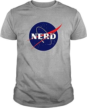 Camiseta de NIÑOS Nerds Geek Divertidas NASA The Big Bang Theory: Amazon.es: Ropa y accesorios