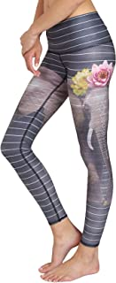 product image for Teeki Women's Leggings or Hot Pants, Love the Elephant Pattern