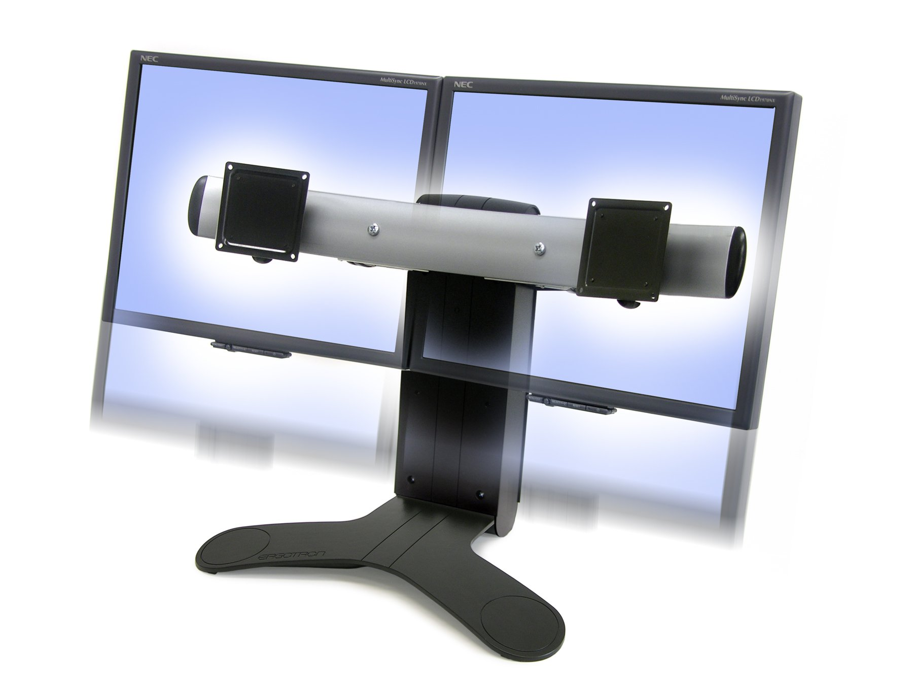 Ergotron Dual Monitor Stand Amazon Com