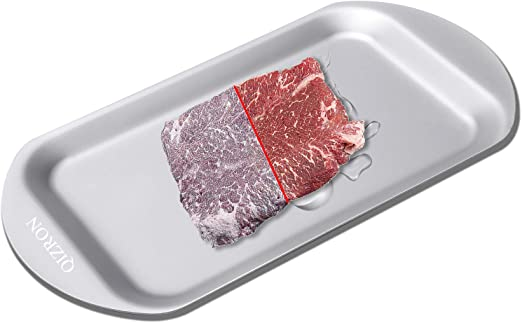 Defrost Tray Food Meat Pork Thaw Frozen in Minutes Kitchen Defrosting Tools *DC