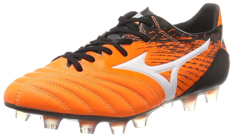 Mizuno Herren Morelia Neo Kl MD Fuszlig;ballschuhe  42 EU|Mehrfarbig (Orangeclownfish/White/Black)