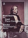Liszt: Klavierkonzerte 1+2 [Alemania] [DVD]