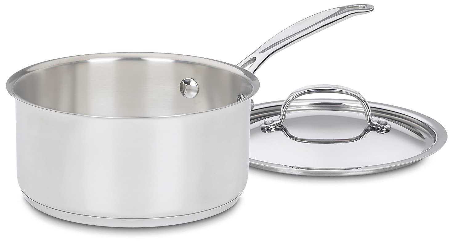 Cuisinart 719-18 Chef's Classic Stainless 2-Quart Saucepan with Cover