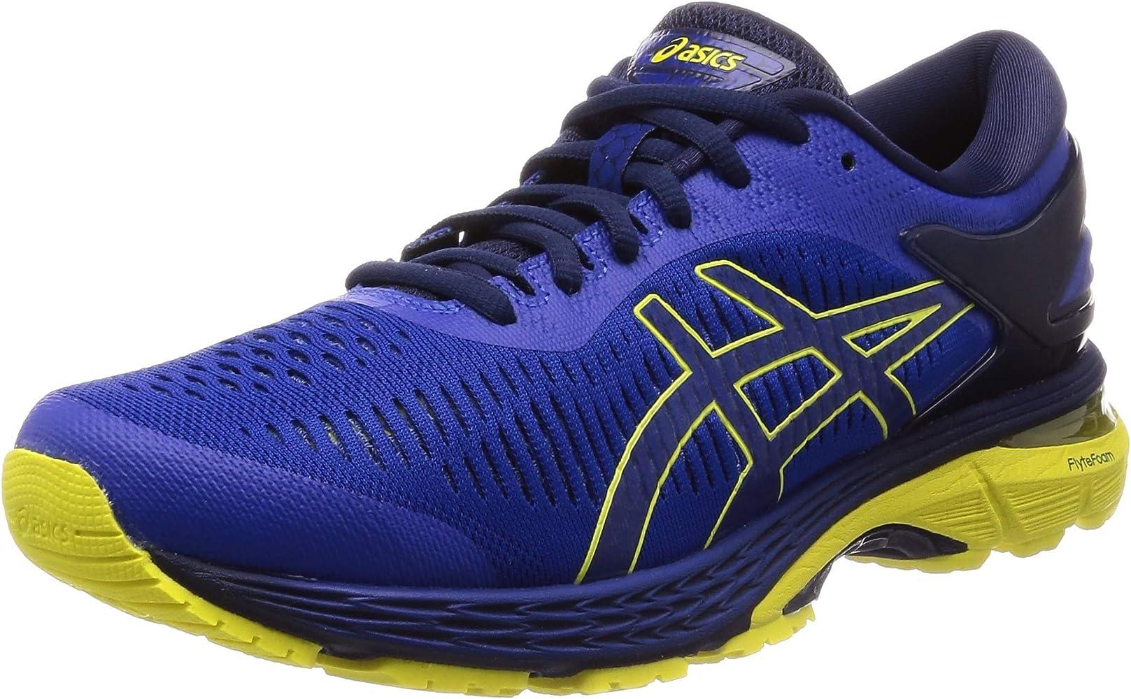 94a93fe67575 Asics Gel-Kayano 25, Chaussures de Running Homme, Bleu Blue/Lemon Spark