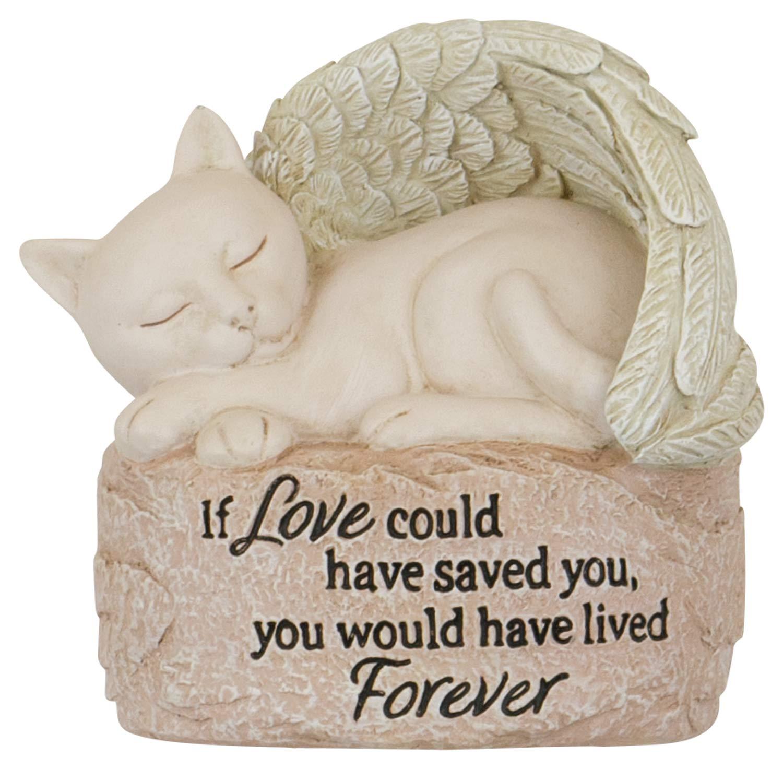 The Bridge Collection Memorial Angel Wings Figurine (Cat)