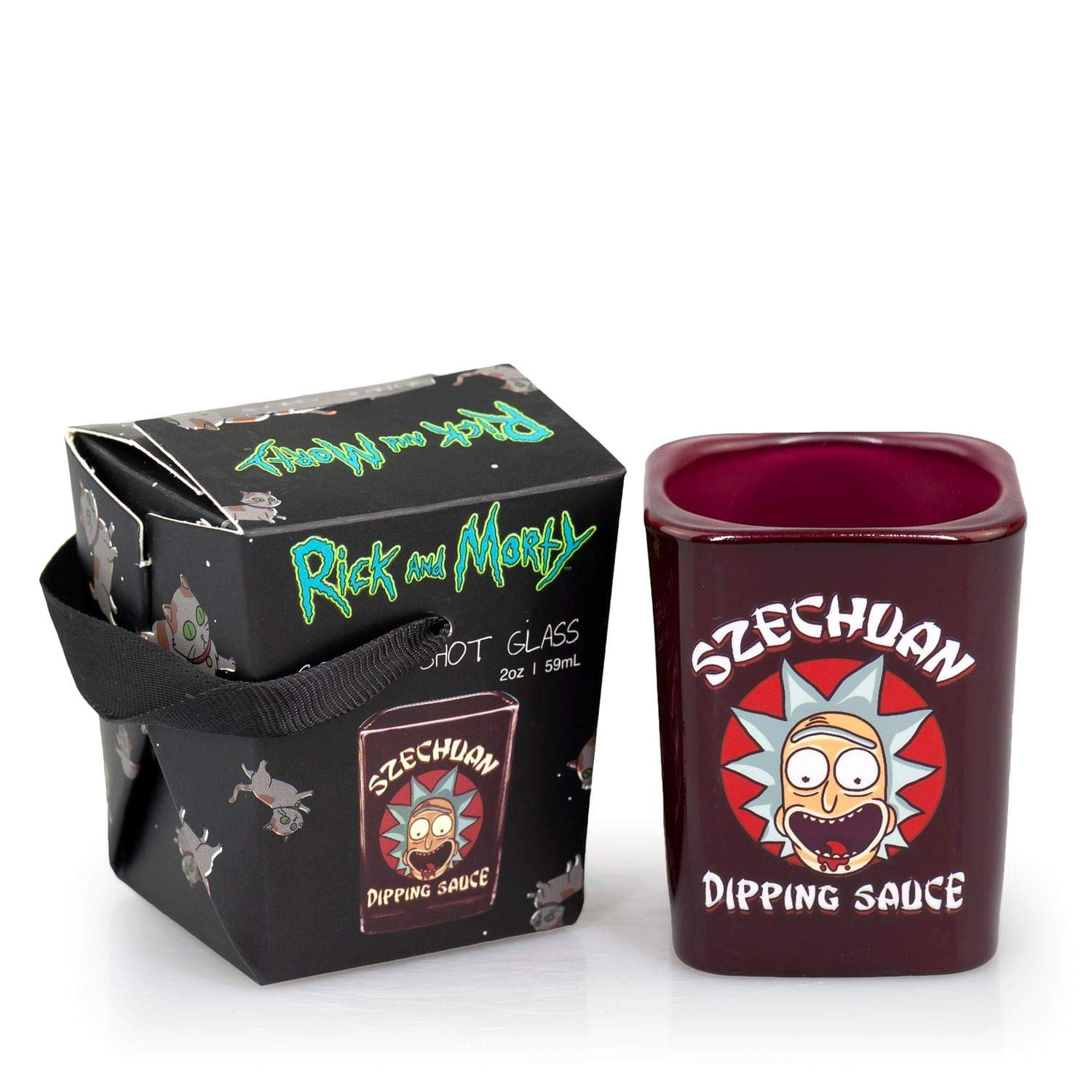 Rick and Morty Szechuan Dipping Sauce Shot Glass: Amazon.es: Juguetes y juegos