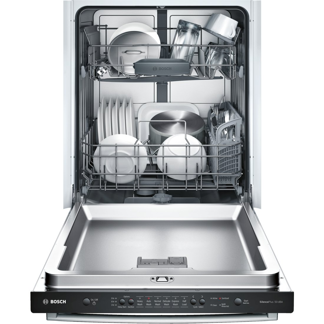 Amazon.com: Bosch SHX3AR75UC Ascenta - Lavavajillas (acero ...