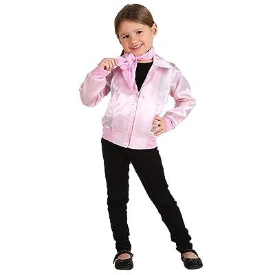 Grease Toddler Pink Ladies Jacket Costume: Clothing
