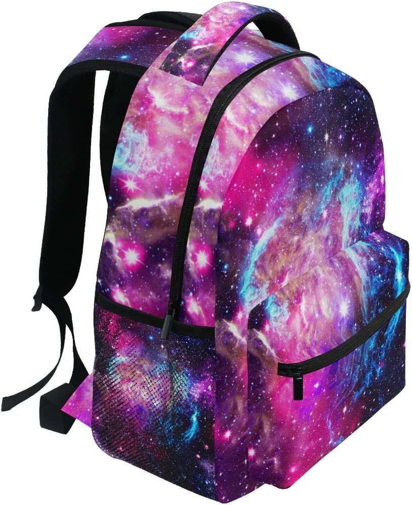FAJRO Universe Galaxy Travel Backpack Carry On School Pack