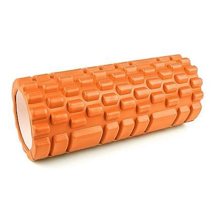 Capital Sports Yoyogi Rollo de gimnasia (Cilindro de gomaespuma masajeador, 33.5cm, ideal rehabilitación, liberar tensión, ejercicio masaje músculos, ...