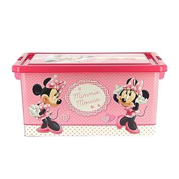 nouvelle collection 4b5c5 fb15a My Note Deco - Minnie Mouse Boîte de Rangement, 064942 ...