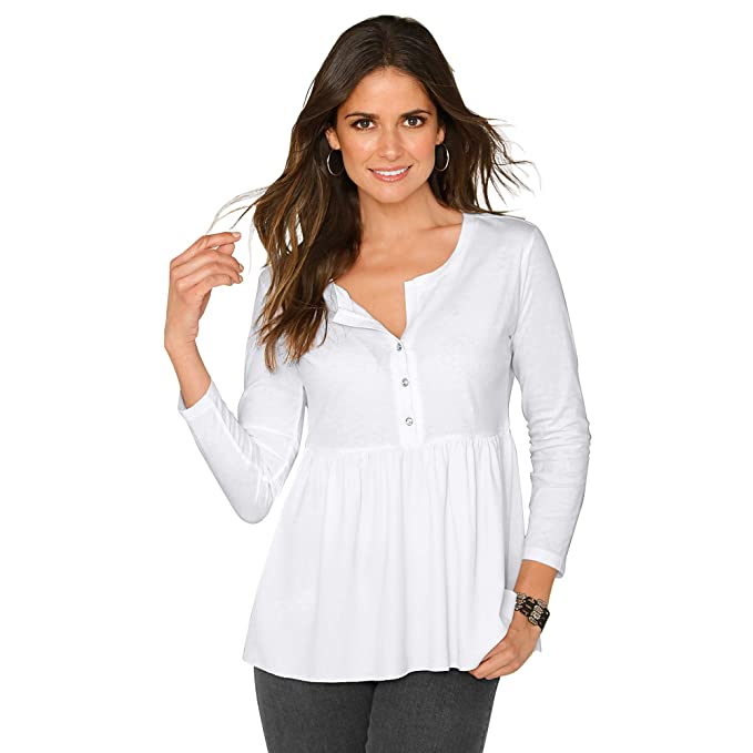venta más caliente niño tienda oficial VENCA Camiseta Escote Redondeado con Abertura y Botones de ...