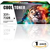 Cool Toner 1 Pack Replacement B1265dnf B1265dfw B1260dn Toner Compatible for Dell 331-7328