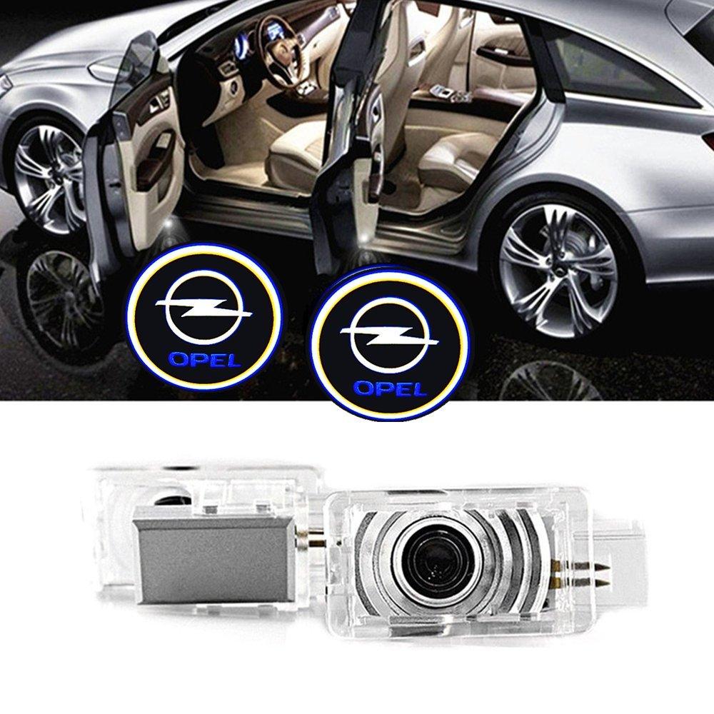 ELOPSM Porte de voiture LED é clairage d'entré e projecteur courtoisie bienvenue lampe ombre Logo lumiè re Projecteur