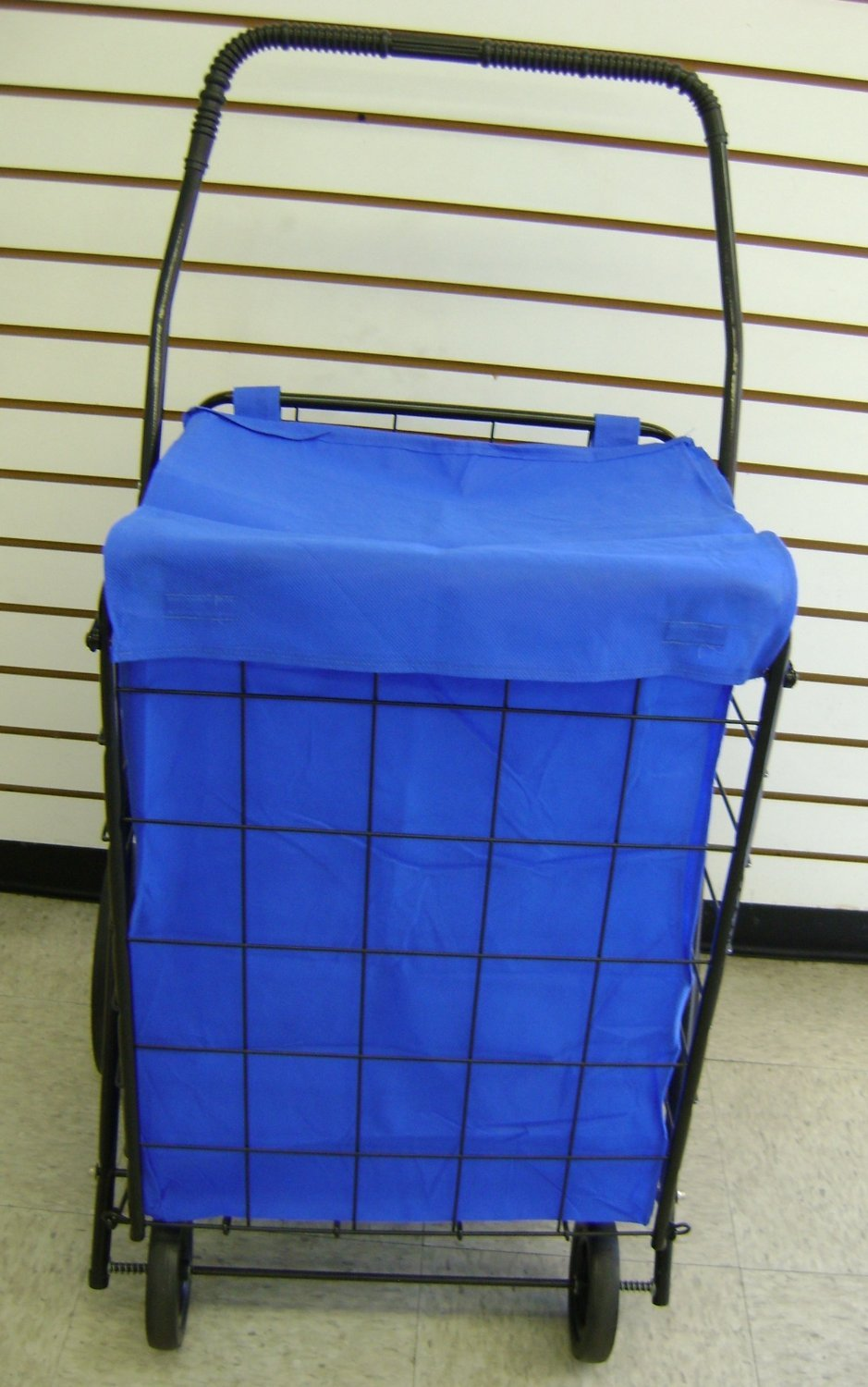 Blue WATER PROOF with cover by RoyalCraft TM SHOPPING CART LINER insert